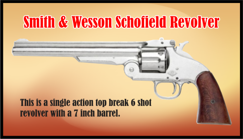 Smith and Wesson top loading handgun