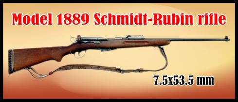 Streets of laredo  Model 1889 Schmidt-Rubin rifle