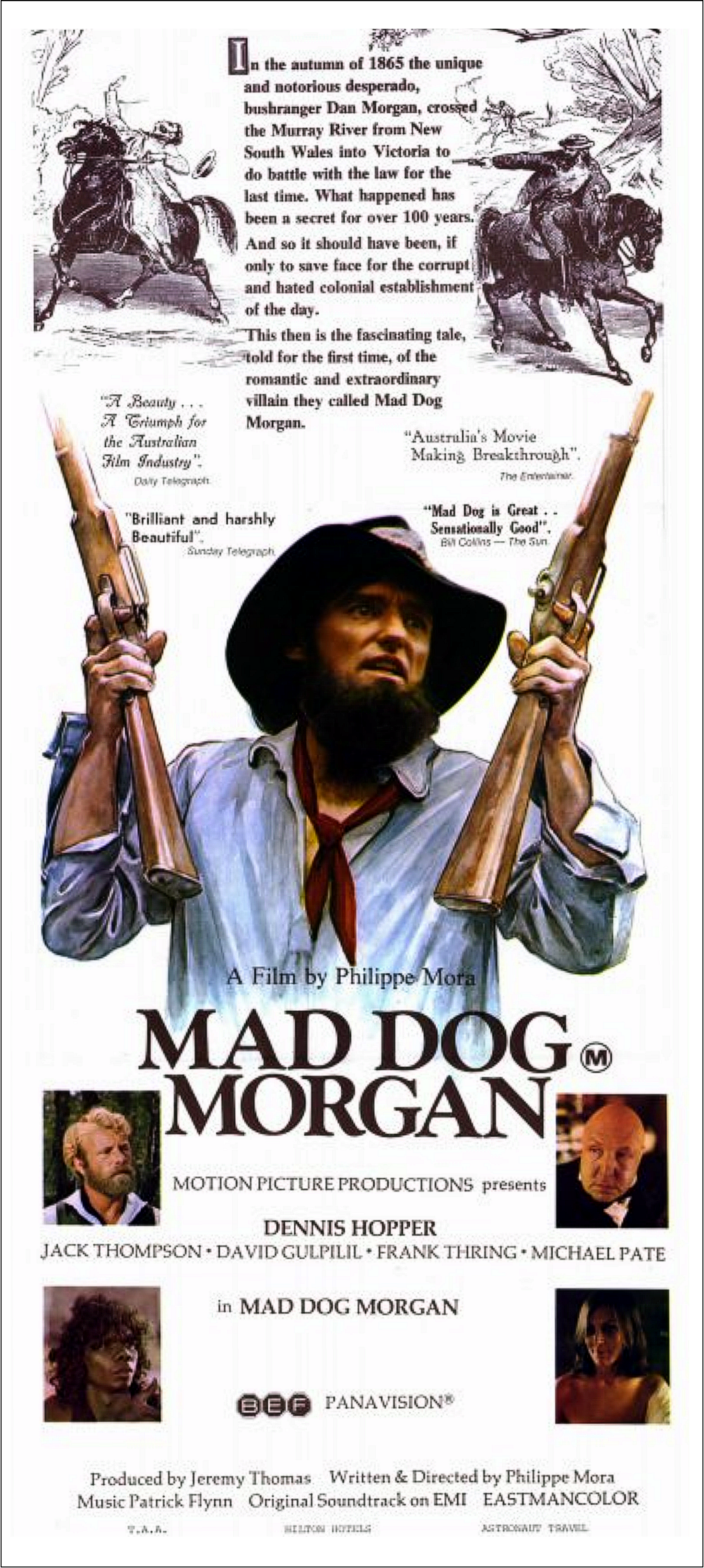 Mad Dog Morgan poster 2