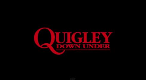 QUIGLEY DOWN UNDER banner shot