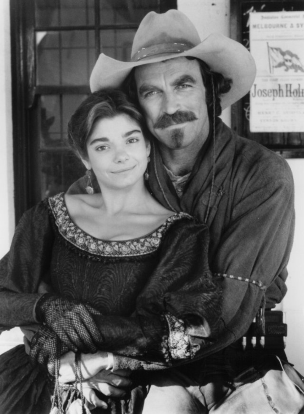 QUIGLEY DOWN UNDER Selleck with Laura San Giacomo 2