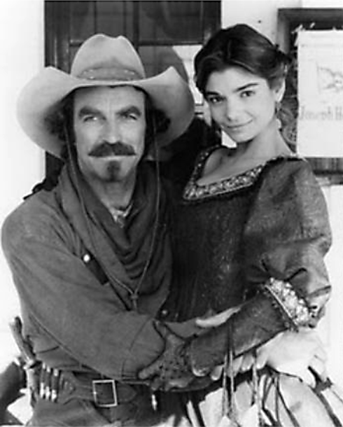 QUIGLEY DOWN UNDER Selleck with Laura San Giacomo 3