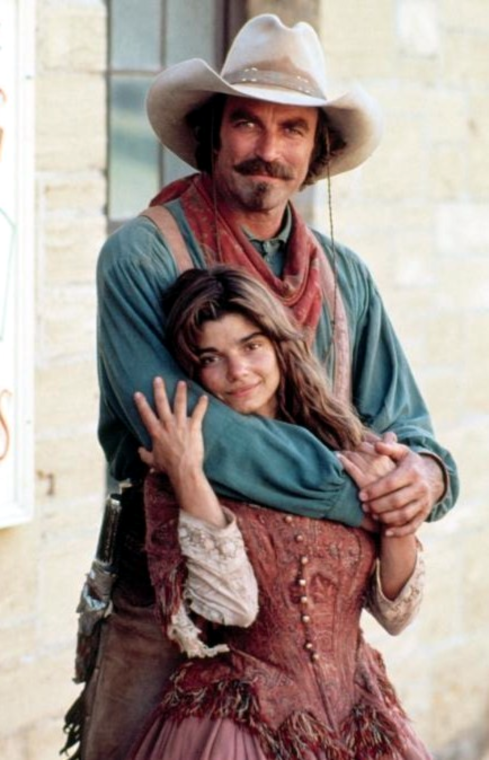 QUIGLEY DOWN UNDER Selleck with Laura San Giacomo