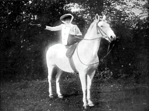 shooting sidesaddle