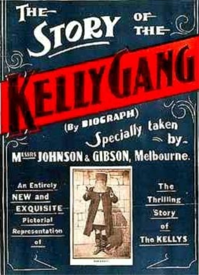 the story of the ned kelly gang poster