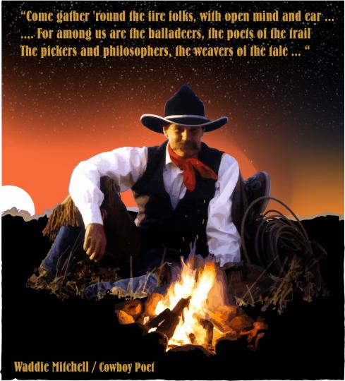 waddie mitchell cowboy poet