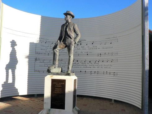 A B Paterson statue