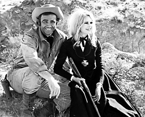 Shalako Sean Connery and Bardot
