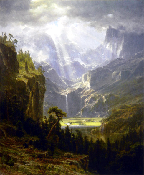 Albert Bierstadt, Rocky Mountains, Lander's Peak