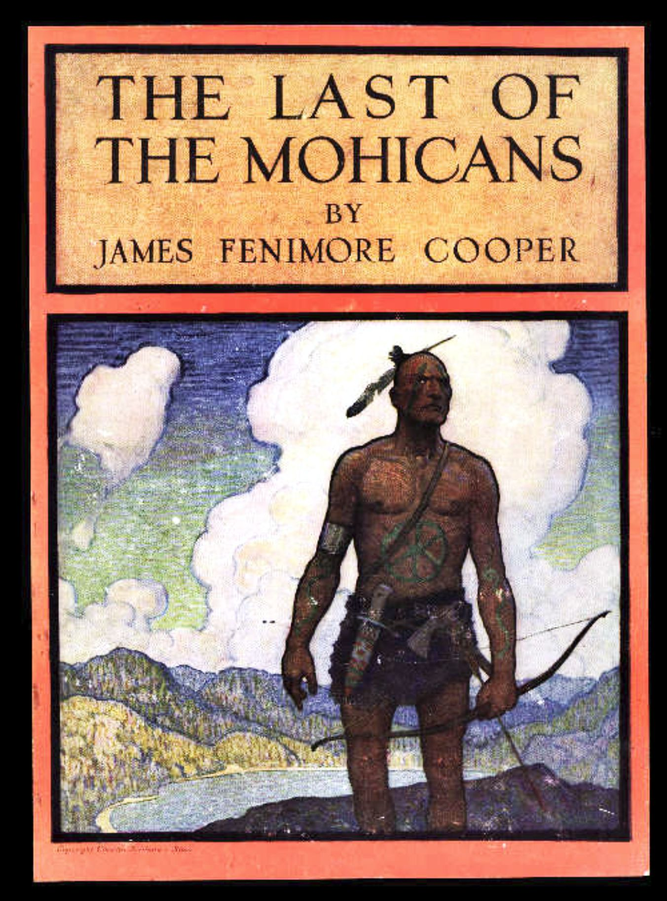 Image result for last of the mohicans book cover