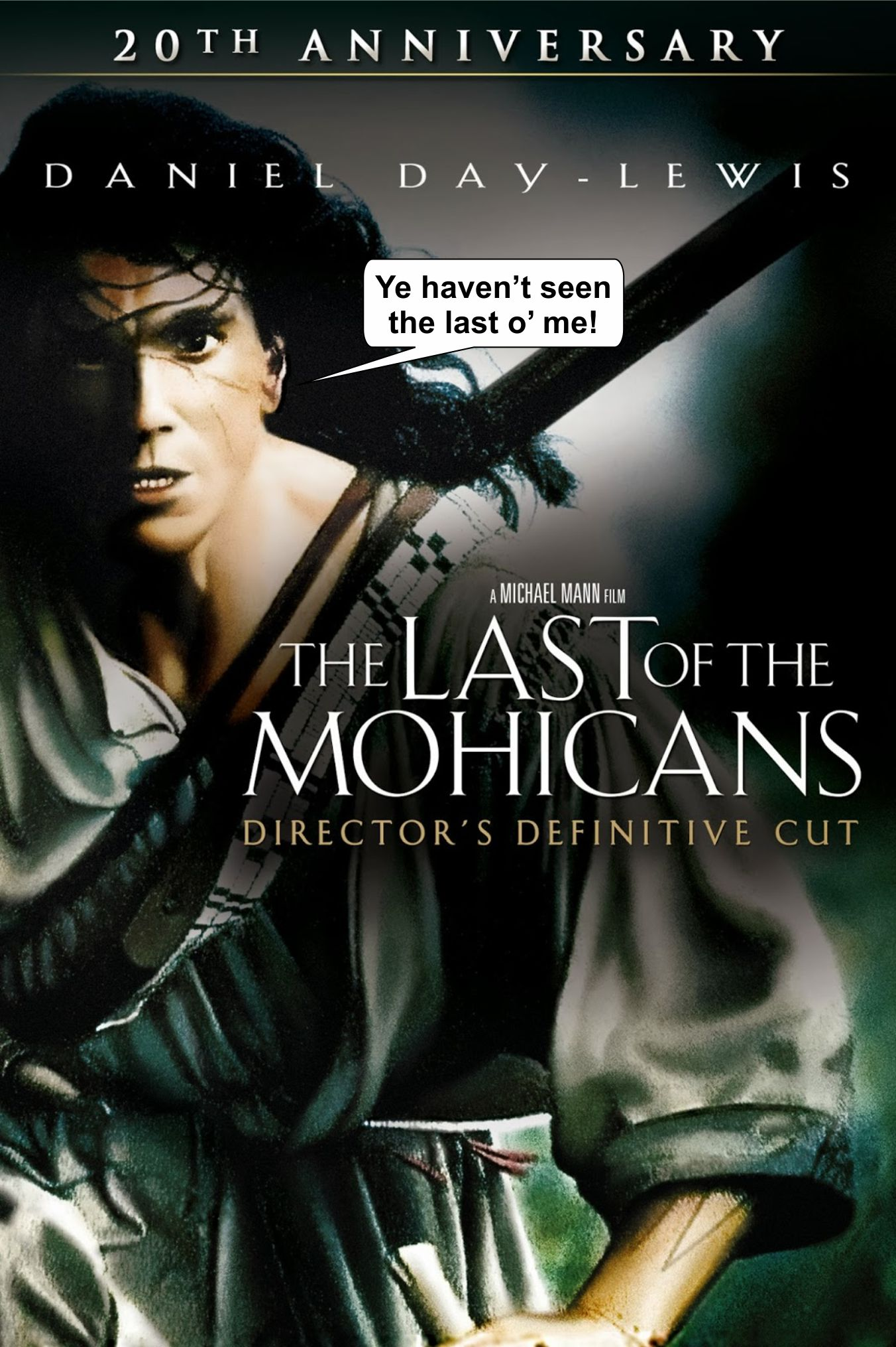 the carry on connected with typically the mohicans dvd movie critique essay