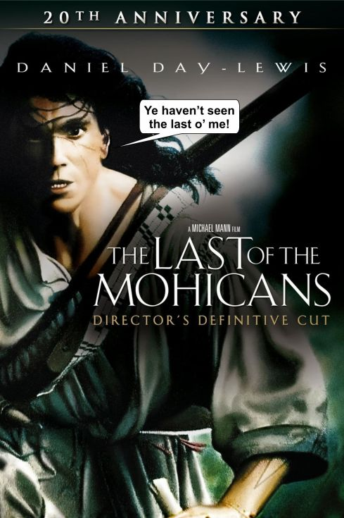 The Last of the Mohicans Director's Cut poster 2