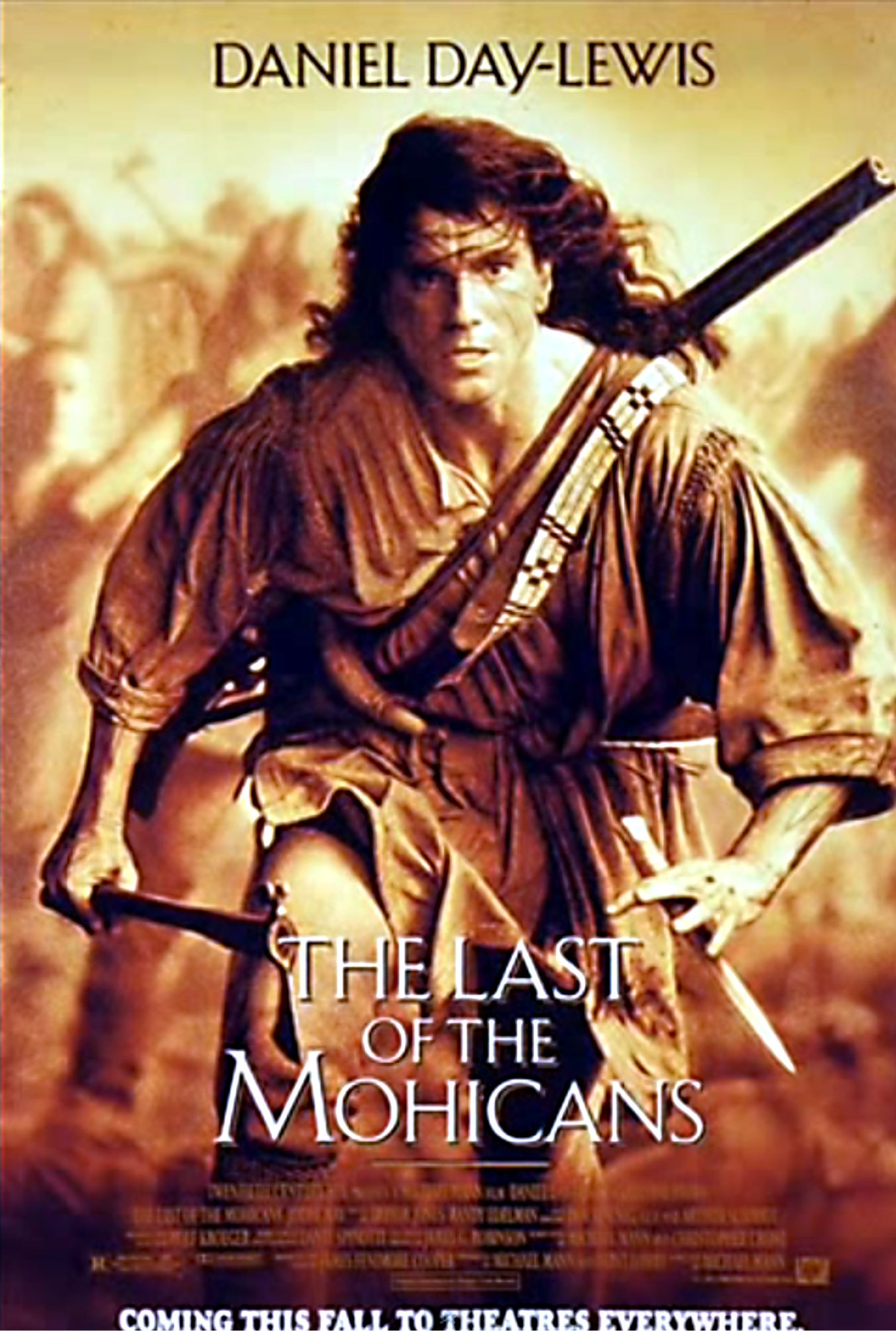 an evaluation of the movie the last of the mohicans From the opening of the last of the mohicans, in which daniel  and co-writer  michael mann's film version of james fenimore cooper's.