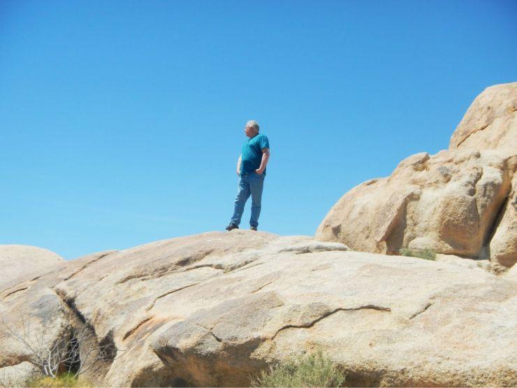 Joshua Tree rock formations 1