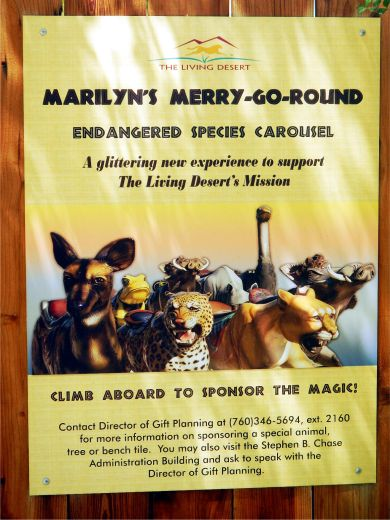 Marilyn's Merry-Go-Round Poster