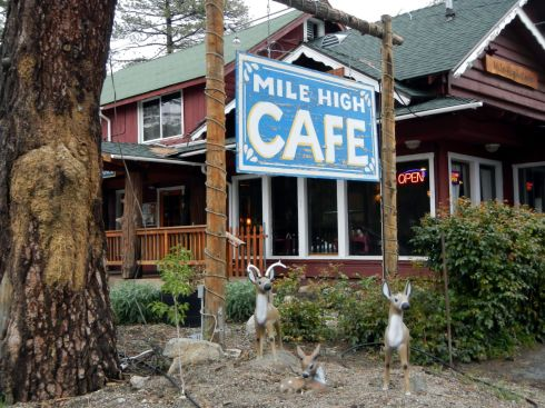 Mile High Cafe ... Idyllwild