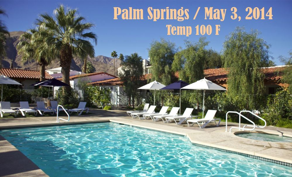 Palm Springs weather