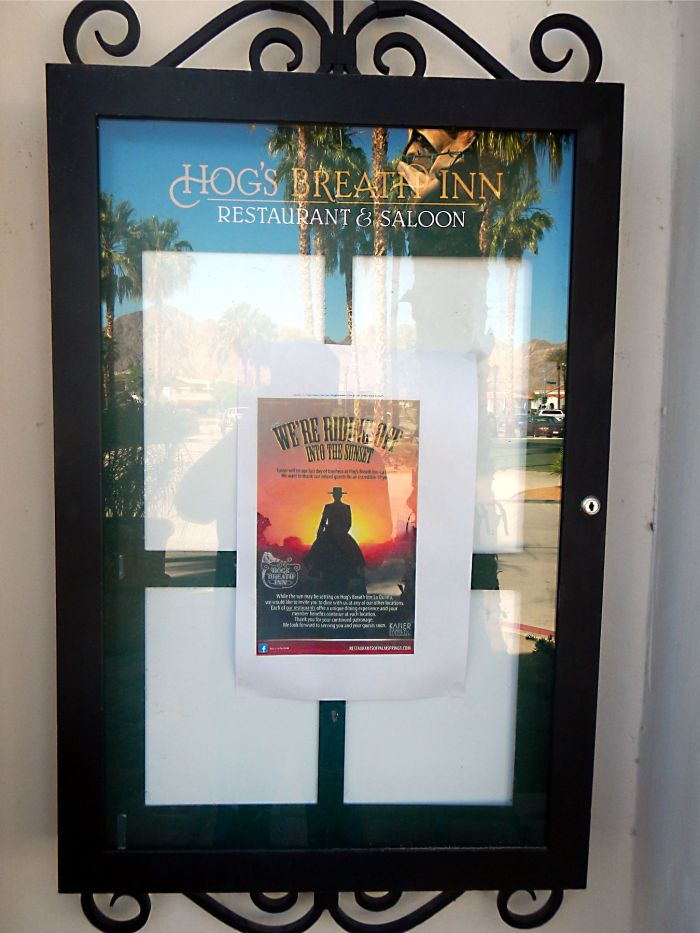 The Hogs Breath Inn poster