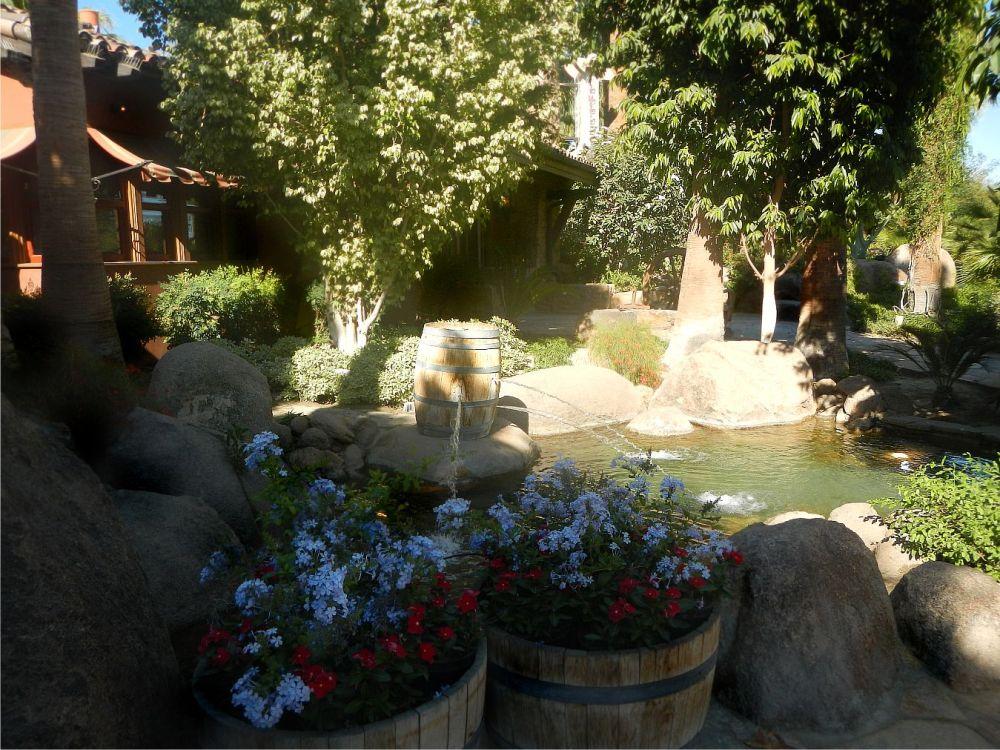 garden fountain 2