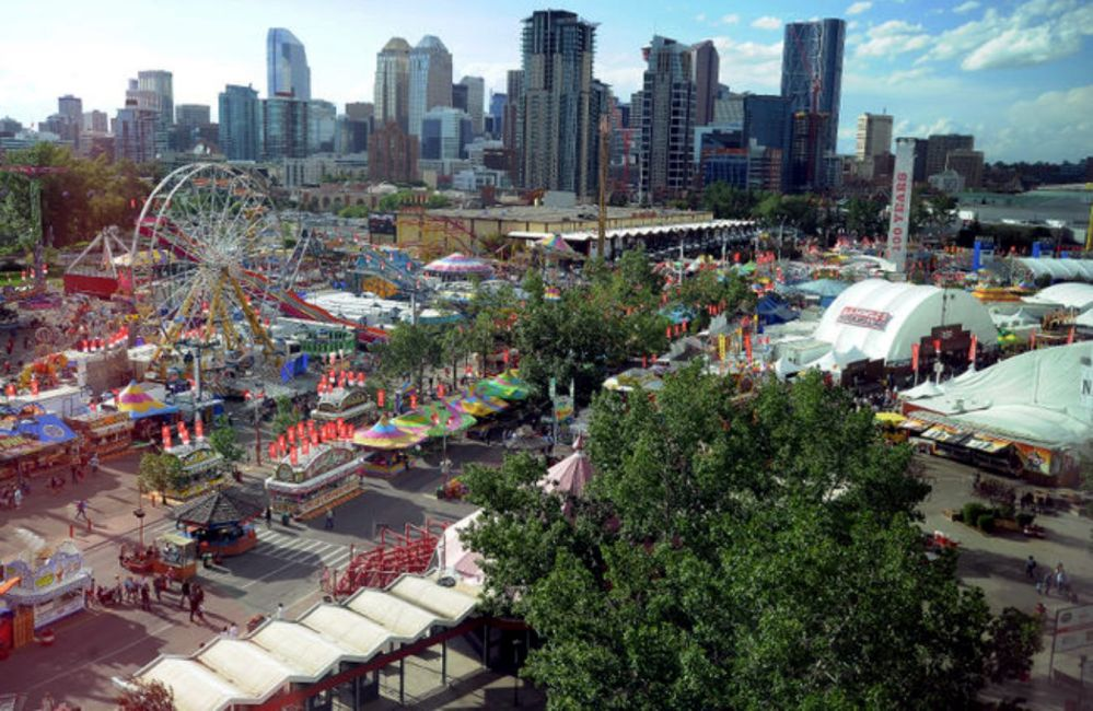 Calgary and Stampede Midway