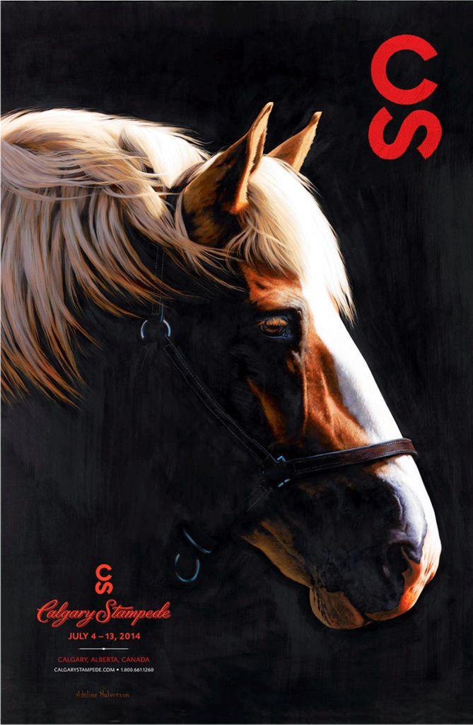 Calgary Stampede poster 2014