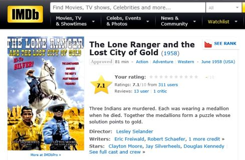 IMDB City of Gold