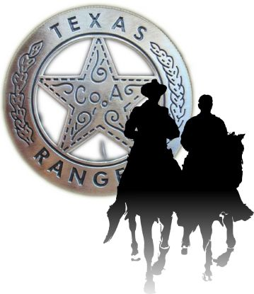 Texas Rangers badge 10