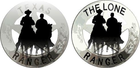 Texas Rangers badge 12