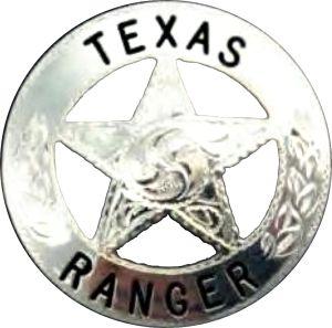 Texas Rangers badge 2