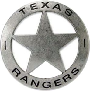 Texas Rangers badge