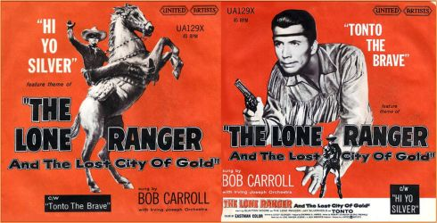 The Lone Ranger lost city of gold