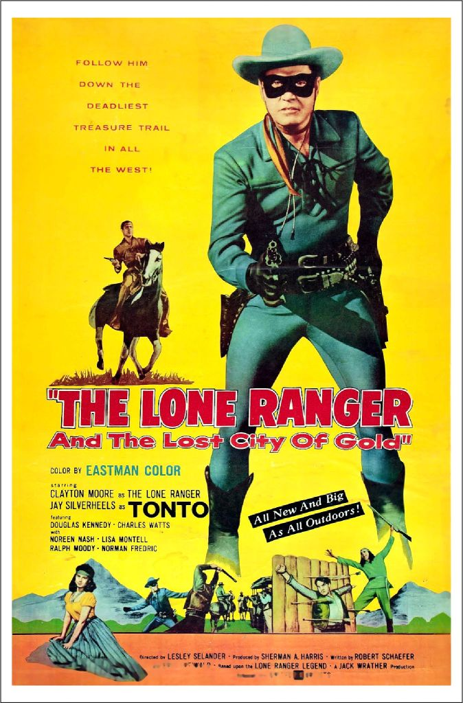 The Lone Ranger Poster 4