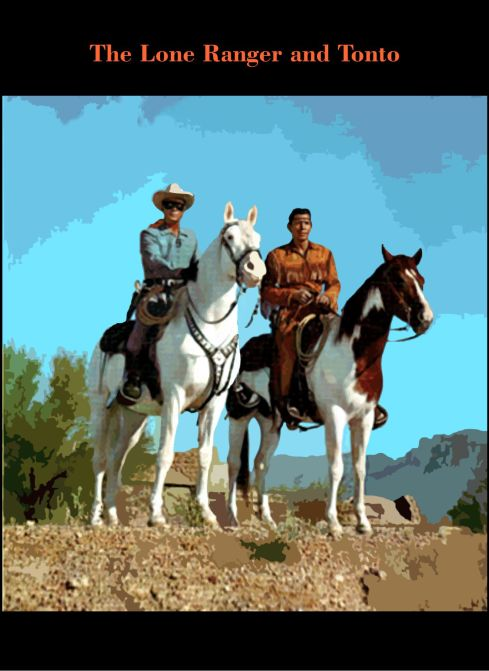 3 The Lone Ranger and Tonto 5
