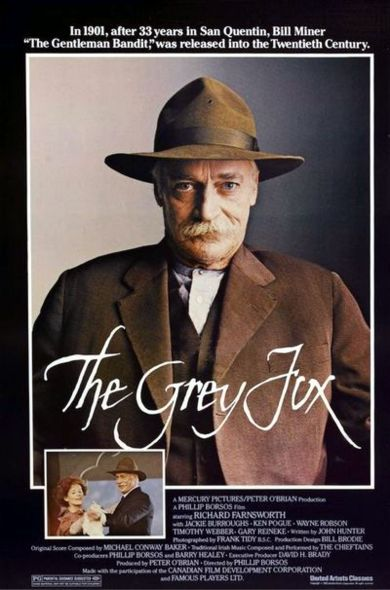 The Grey Fox Poster