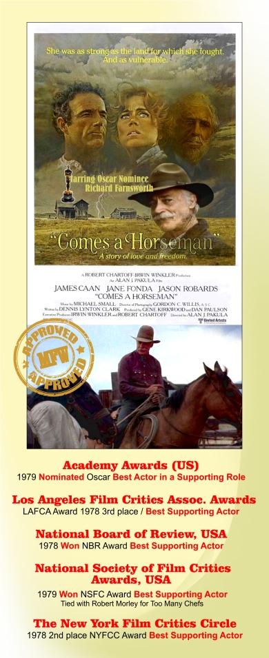 Comes a Horseman Awards