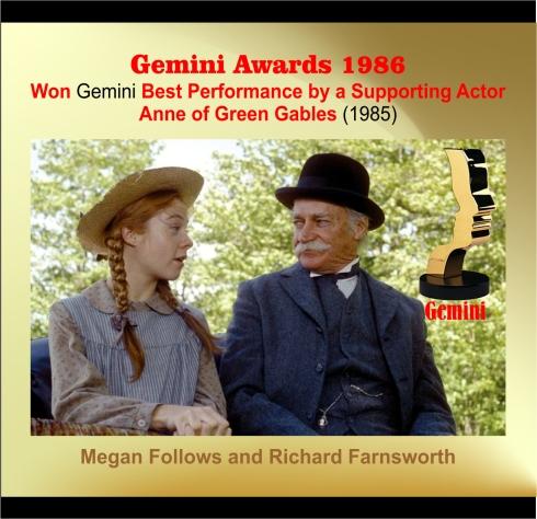 Gemini Award Richard Farnsworth