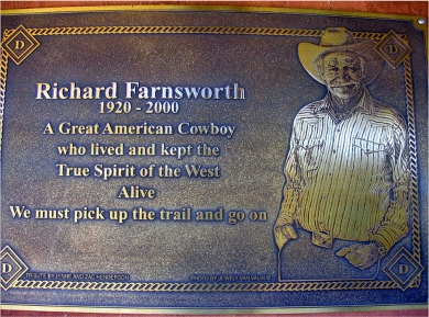 Richard Farnsworth Belt Buckle