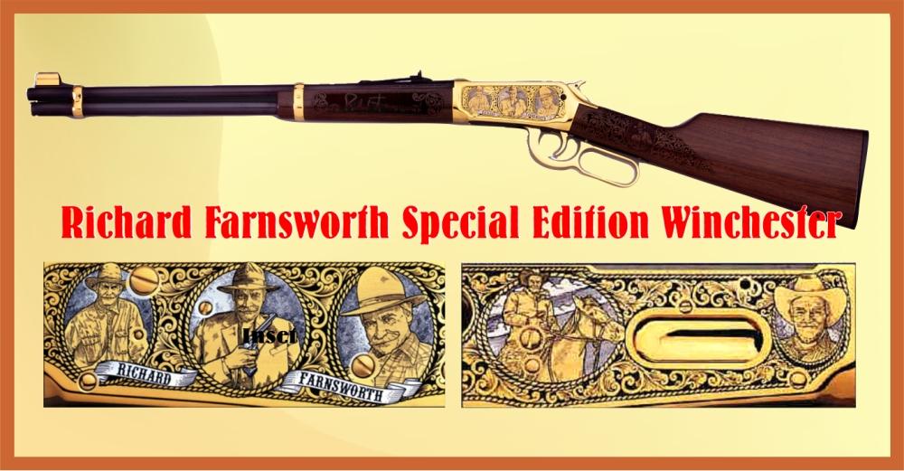 Richard Farnsworth Winchester Rifle