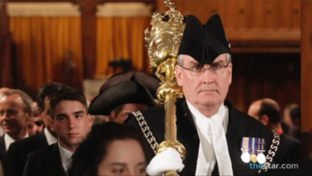Kevin Vickers, parliament's sergeant-at-arms