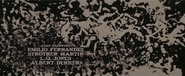 The Wild Bunch Corel screen 7 opening credits