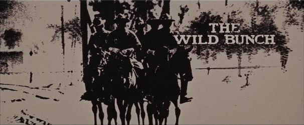 The Wild Bunch Corel screen opening credits Banner