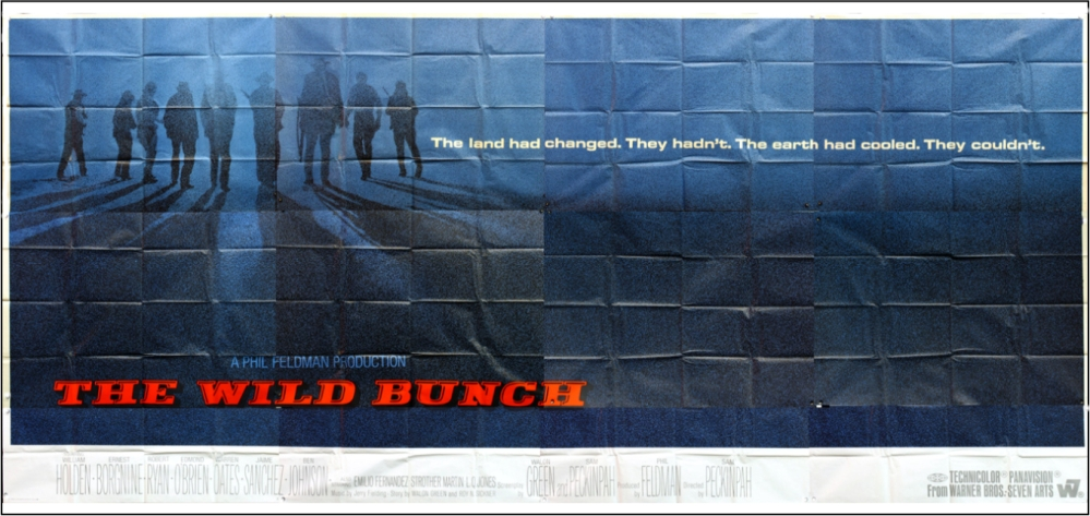The Wild Bunch poster 1