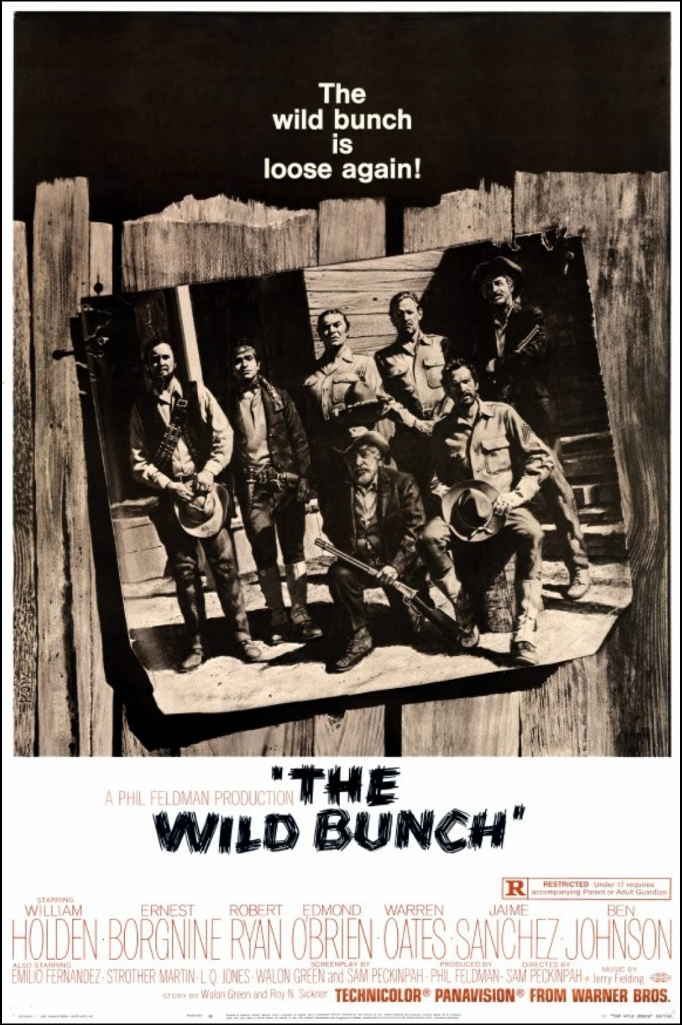 The Wild Bunch poster 12.7