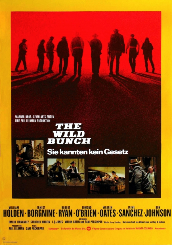 The Wild Bunch poster 13.5