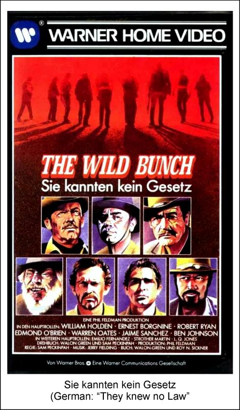 The Wild Bunch Stream German