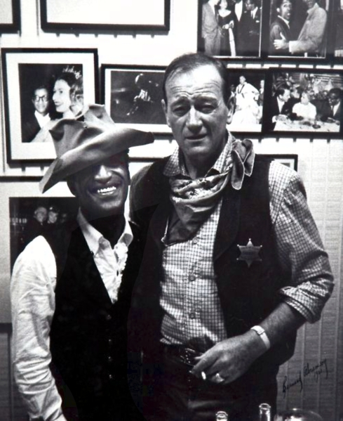 Sammy Davis Jr. and 'The Duke'