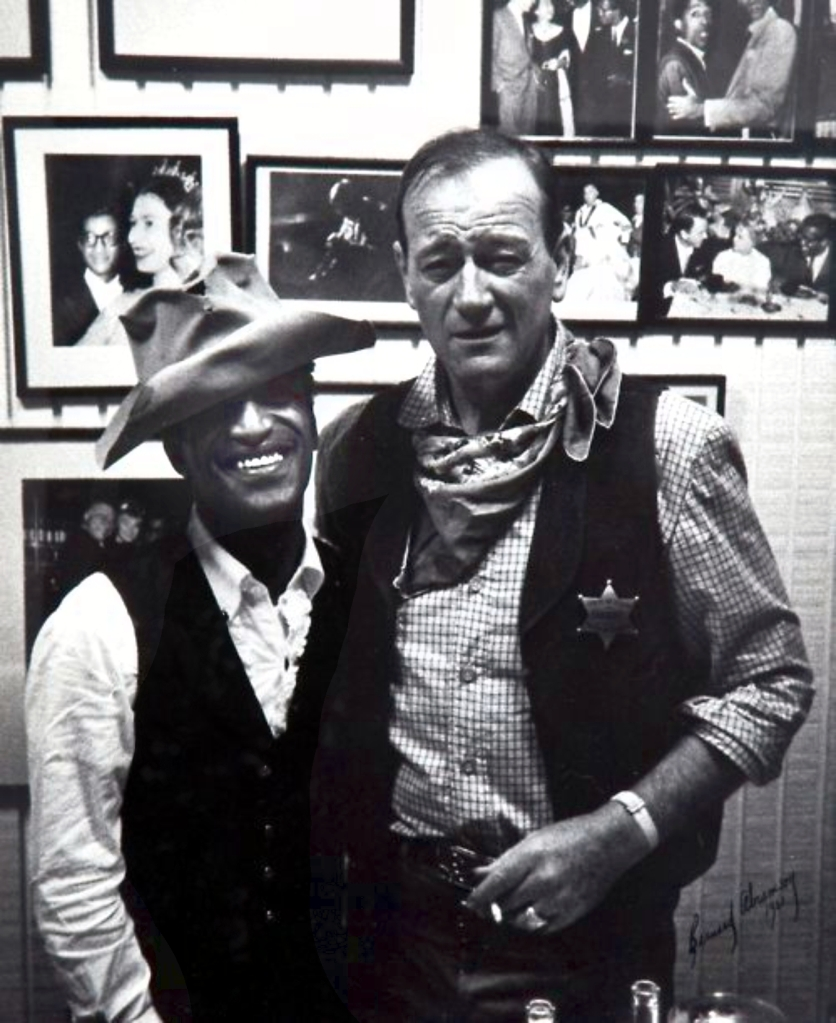 Sammy Davis Jr. and 'The Duke'