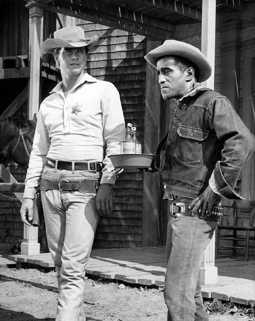 Sammy Davis Jr on Lawman