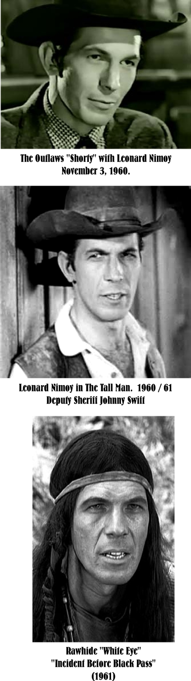 Leonard Nimoy tv westerns