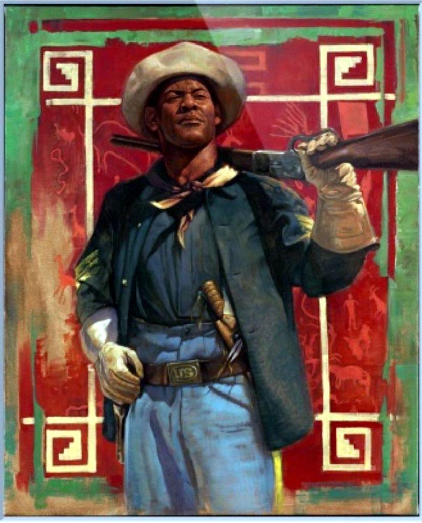 Buffalo Soldier #5 by James Goodridge